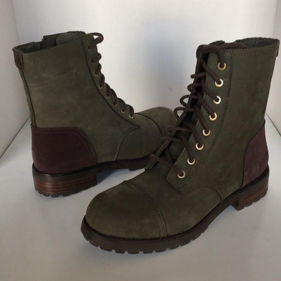 fd4f00a4f0c ❤️New Ugg Kilmer Slate Laced up zipper Boot Sz 6.5 NWT